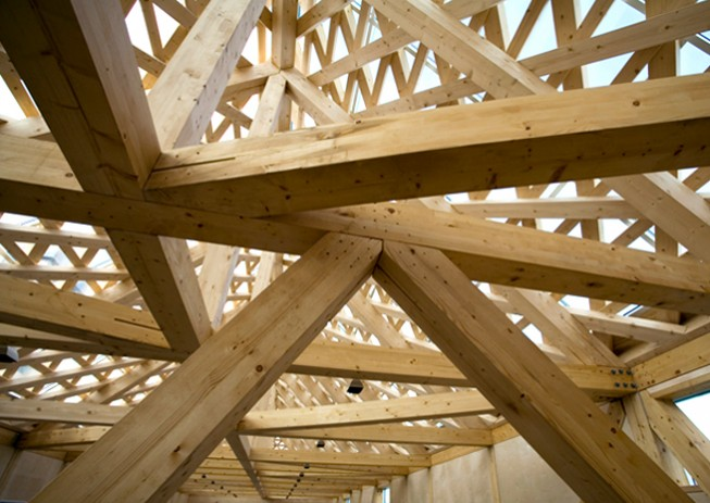 Qu rol cumple la madera laminada en la arquitectura - Arquitectura en madera ...