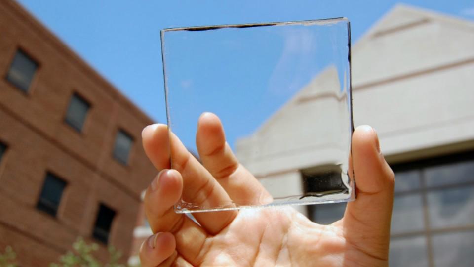 Paneles solares transparentes