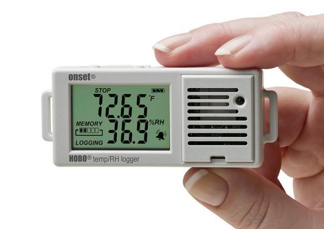 medidor de datos ambientales