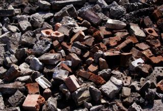 reutilización de escombros en la construcción
